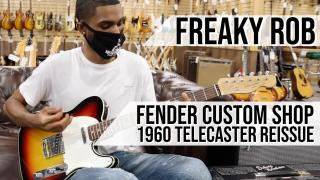 Fender Custom Shop 1960 Telecaster Reissue | Freaky Rob at Norman's Rare Guitars