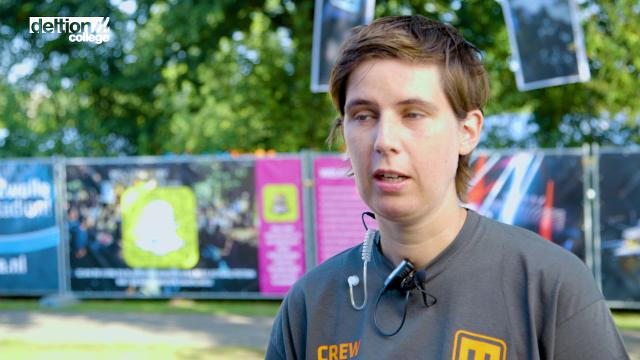 Studenten verzorgen logistiek Bruisweken Zwolle