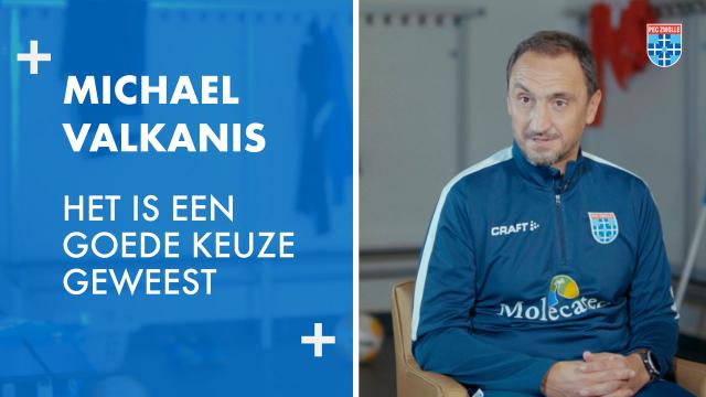 Michael Valkanis: 'Het is een goede keuze geweest'
