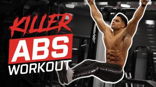 Killer Abs Workout With IFBB Elite Pro Ali Bilal