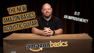 Amazon Basics Guitar Unboxing and Review