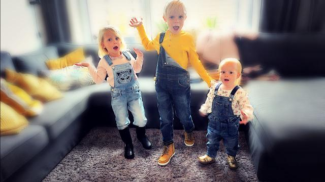 MiSKOOP MATCHiNG OUTFiTS VOOR DE KiDS  | Bellinga Vlog #1496