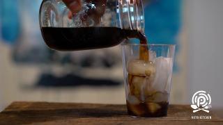 keto swiss caco iced espresso