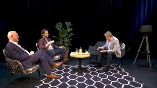 Ondernemerslounge (RTL7) | 3.7.09 | Goocheltruc van Hans Kazàn