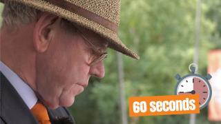 60 seconds met Wil Haarman