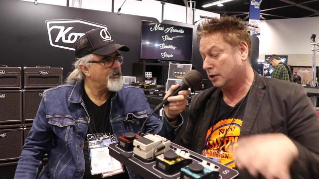Live from NEXI Pedals booth, NAMM 2020: with NEXI founder/inventor, Jeroen Bakker