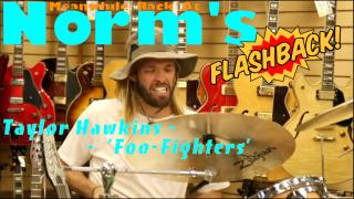PRE-COVID Flashback: Foo Fighters, Taylor Hawkins