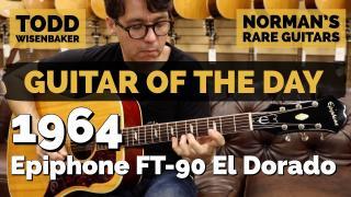 Guitar of the Day: 1964 Epiphone FT-90 El Dorado