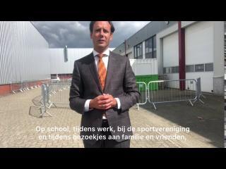 NL Videoboodschap burgemeester Harm-Jan van Schaik