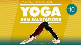 Yoga Sunsalutations 10