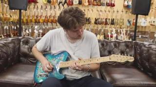 Fender Telecaster Blue Flower