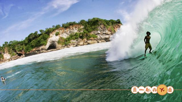 Surfen in Indonesië