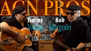 Jimmy Vivino talks and jams with Bob Margolin from the Muddy Waters Band.