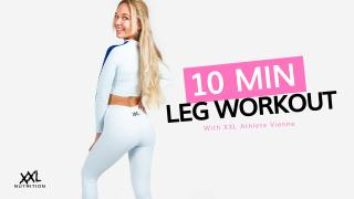 10 Minutes Leg Workout - XXL Nutrition