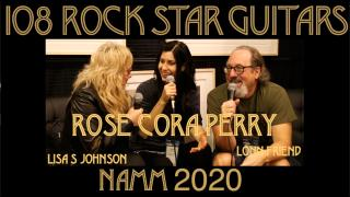 108 ROCK STAR GUITARS AT NAMM 2020: Rose Cora Perry