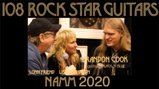 108 ROCK STAR GUITARS AT NAMM 2020: Brandon Cook: Black 'N Blue