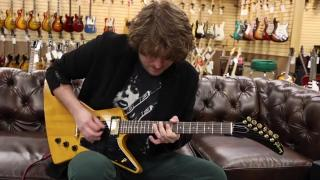 Guitar of the Day 1983 Gibson Custom Shop Korina Explorer