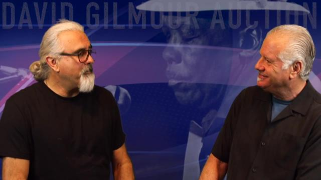 Old News: The David Gilmour Auction Sets A New Record
