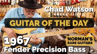 Guitar of the Day: 1976 Fender Precision Bass | Special Guest: Chad Watson