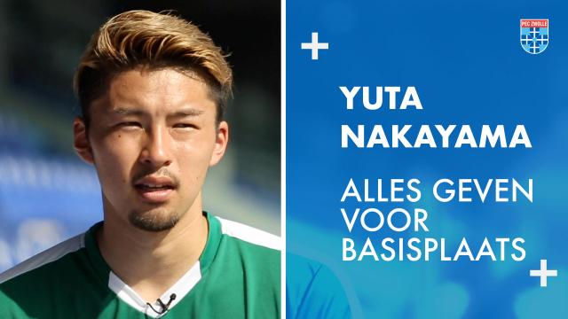 Yuta Nakayama: 'Alles geven voor basisplaats.'