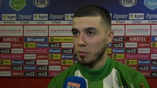 Mustafa Saymak: 'Wat wij vandaag hebben laten zien, past niet bij ons seizoen.'