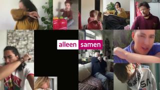 TV spot: Campagne Alleen samen krijgen we corona onder controle