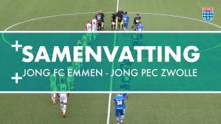 Samenvatting Jong FC Emmen - Jong PEC Zwolle