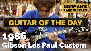 Norman's Rare Guitars | Guitar of the Day | 1986 Gibson Les Paul Custom