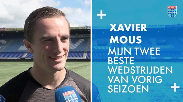 Xavier Mous: 'Dit waren mijn twee beste wedstrijden van vorig seizoen'