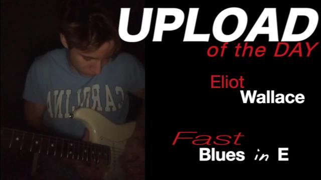 Eliot Wallace: Fast Blues in E