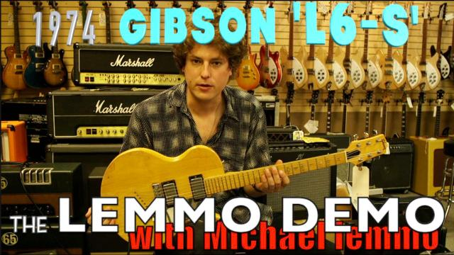 Lemmo Demo: 1974 Gibson L6-s