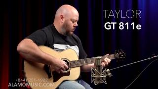 Taylor GT811e Reveal Taylor's Newest Body Shape, Upgraded!
