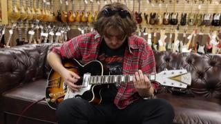 Guitar of the Day 1950's Kay Barney Kessel K6700 Model in Sunburst Norman's Rare Guitars