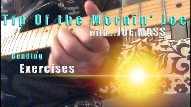 Tip Of The Mornin' Joe: Bending Exercises