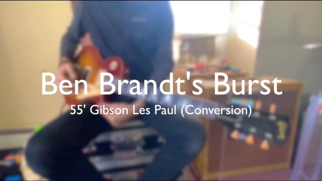 Ben Brandt on his 1955 Les Paul Conversion | Talking Shop