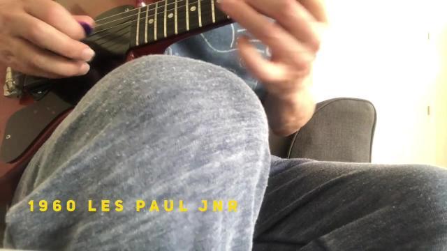 Tuesday: 1960 Les Paul Jnr