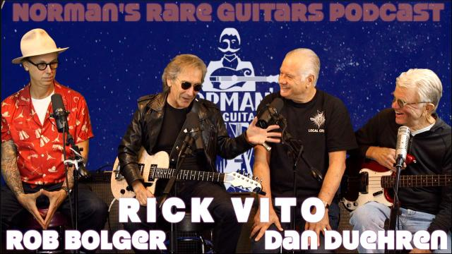 Norman's rare Guitars Podcast: Episode 13: Rick Vito