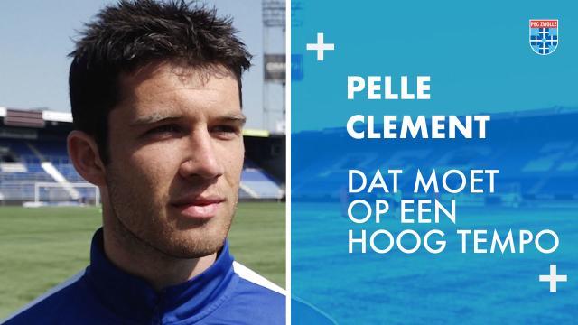 Pelle Clement: 'Dat moet op een hoog tempo'