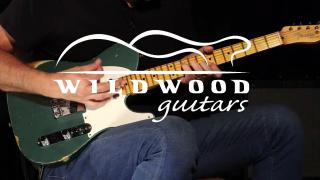 Wildwood Guitars • Fender Custom Shop Wildwood 10 1955 Telecaster • SN R100303