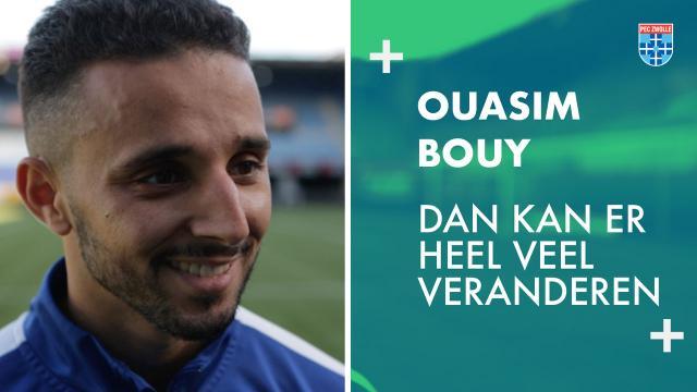 Ouasim Bouy: 'Dan kan er heel veel veranderen'