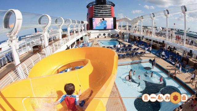 Een dag aan boord van de Disney Cruise