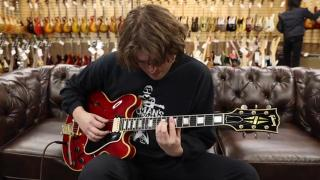 Guitar of the Day 1959 Gibson ES-355 Factory Mono Happy Holidays from Norman's Rare Guitars