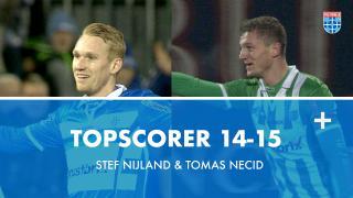 Topscorer 14-15 | Stef Nijland en Tomas Necid