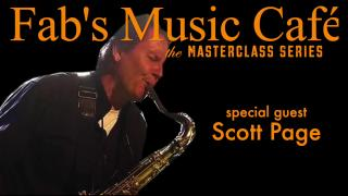 Fab's Music Café | Scott Page Masterclass: Saxophone/Guitarist for Pink Floyd, Supertramp, and Toto...he is also a technologist and business guru.