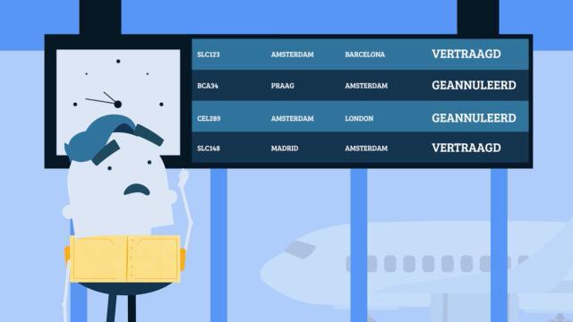 Heeft je vlucht vertraging?