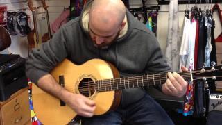 A DAY AT WESTCOAST GUITARS: Todd Taylor at Westcoast Guitars