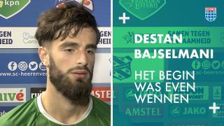 Destan Bajselmani: 'Het begin was even wennen.'