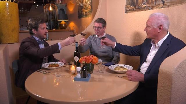 Ondernemerslounge (RTL7) | 3.11.08 | Culinair slot bij L'Elefante Bianco