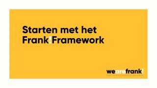 Starten met het Frank!Framework