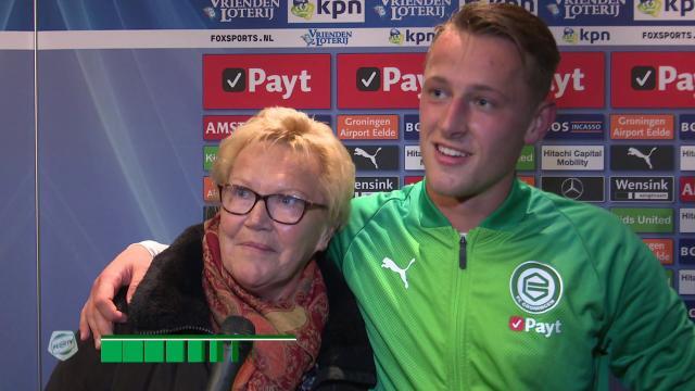 Oma van Kaj Sierhuis: 'Ik dacht dat Kaj had gescoord'